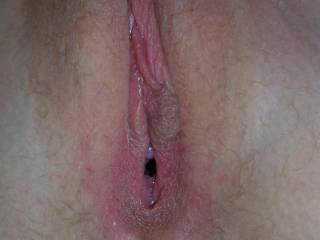 Mid fuck. It is gaping a little :)