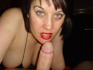 Not sure if it is your stunning Sexy eyes, those amazing delicious Red Lipstick lips or that huge hard Cock but whatever it is we are totally in your power tonight! Breathtakingly Beautiful xxx xxx 10/10 xxx