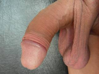 very nice shaved balls and hanging, very easy to take in the mouth and play with