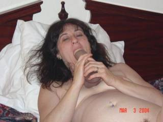 How about sucking on my big cock instead. Then I can eat your sweet pussy.