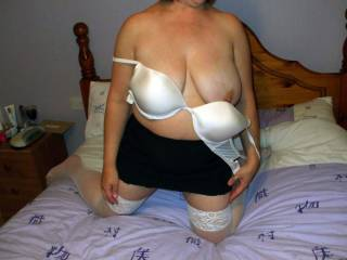 very hot and sexy looking  Love it when you show off that sexy body in your lingerie