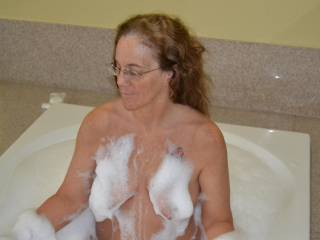 Would love to squeegee those titties clean with my hard dick!