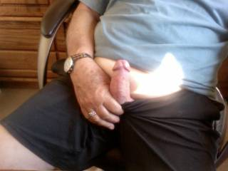 Isn't it nice to stop any time of the day . take your cock out and  start to  play with yourself  Makes you feel so good and enjoy when you cum..