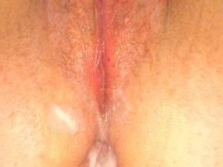 Pic of my married whore for the cuckold hubby before he gets to eat my cum from his wife's holes then jerk into her used panties but not her pussy.