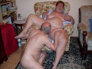 I like so much eating her big fat pussy