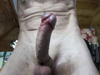 Just a shot of my cock