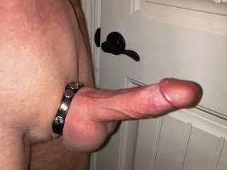 Fooling around the other day and figured it was time for some new pics.  Nice and hard for someone...
