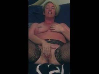 She made this video for a dom bull she met online. He was out of town and she wanted to entice him to meet her.  Once he did,she served him for months.