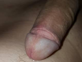 My soft dick make it hard.