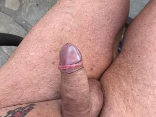 Outdoors and horny