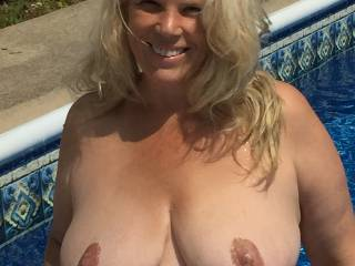 Jenny loves showing off her big hangers! Looking for hung men to tribute the whore