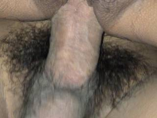 she said she loves the thickness of my cock penetrating her vagina