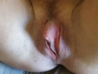 I'd love to suck that big juicy clit for a few hours! Wow! Pull back those beautiful lips so we can see that amazing clit in all of it's erect glory!