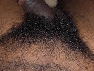 dick with my hairy body.