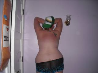 Love to seethe rest of your hot ass and pussy soom. I love bbw like you.