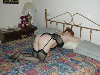 Wife Bent Over Wanting It.