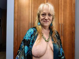 Take care of these tits, dear. I have been waiting for your cock, and this married woman \'badly\' needs it.