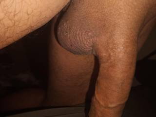 my cock and balls are shaved smooth