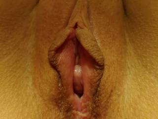 Thick tight pussy, but can stretch to fit very big cocks