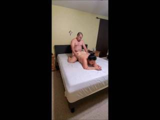 Celebrating Labor Day in style with almost a 20 minute fuck session.