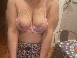 Wife can't keep her sexy tits in that lil outfit for some reason 😂