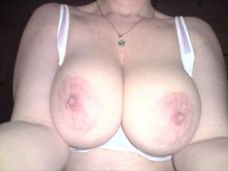 What a lovely perfect big tits misstina, you don´t need to ask me babe you know the answer, my mouth is watering now wow wow would love to do it and play with them so much xxx