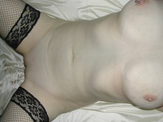 Gorgeous boobs and sweet smooth pussy!