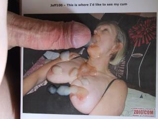 great pic that cock and spunk should be in my arse ,ann xxx