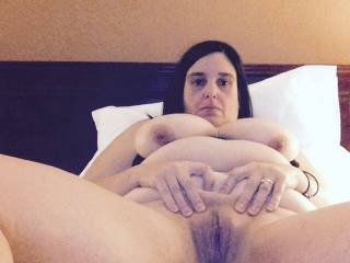 Gorgeous fat juicy cunt. Needs to be eaten and fucked.
