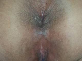 BOTH holes are BEAUTIFUL!  Sue XO