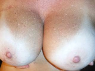 huge sexy boobs :) I can lend you a pair of hands and lips and 1 tongue :)
