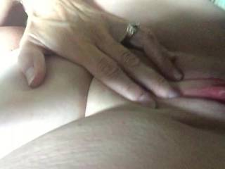 very nice, wish it was me, would love to suck on that clit first though