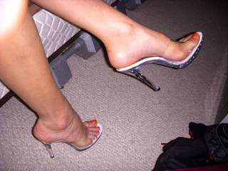 Getting the wife into foot fetish back in the day.