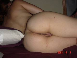 my sweet ass and pussy
