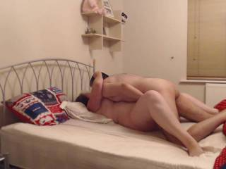Part one of a stranger coming over to play with anita and me
