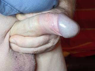 Love holding my cock
