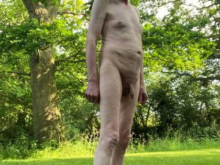 Being out naked in the sun always feels so good.