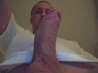 waiting for my wife to suck me