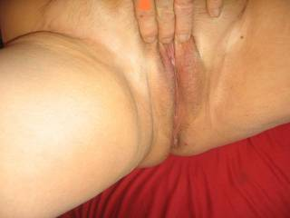 We'd love to take turns eating that juicy pussy! 😛
