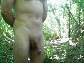 I Like To Show My Nude Body Outdoor!