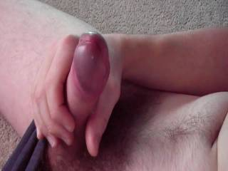 Truly hot!  Excellent foreskin play! Loved the way you milked that cock!