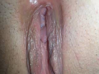 Her pussy begging for my cock