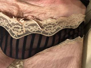 Mmmmmh,your cock looks so nice in sexy panties!!