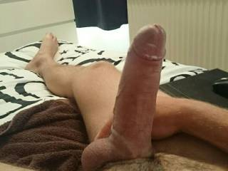 Trying out the new cock-ring - what do you think??