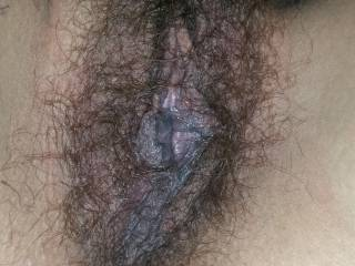I'm a little wet anyone want to see if I'm wet enough for your cock to slip past my lips