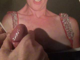 .......for \'Smee69\' per request from zoigs \'Cum on Pics\' forum.....all over her big tittys! any more requests?