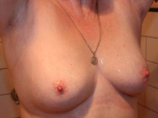 my wife's tits are they something or what?