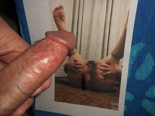 Seeing Pandycu spreading open her pussy and asshole makes my hard cock ache and my pre-cum start to drip from my swollen tip  >:)