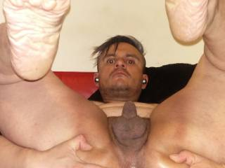 my stretched hole after using that plug