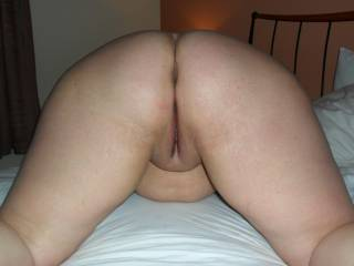 bbw bent over waiting for cock